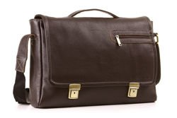 Elegant Leather Shoulder Bag VOOC PRESTIGE EP9