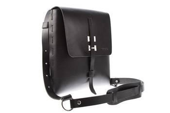 Leather Tech Tablet Messenger Bag VOOC Vintage P3