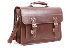 Leather business satchel VOOC Crazy Horse TC8
