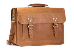 Leather business satchel VOOC Crazy Horse TC8