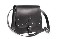 Saddle bag with studs VOOC Vintage P39
