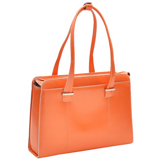 "15.6"" Leather Ladies' Briefcase Mcklein Alexis"