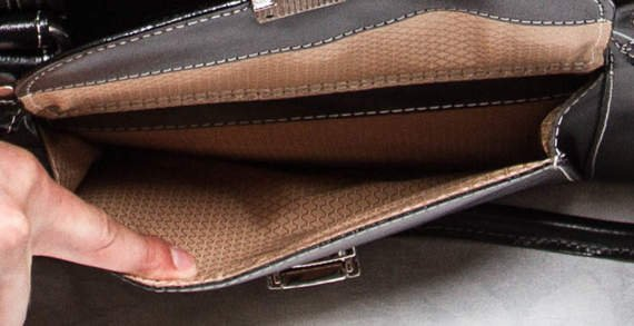 """15.6"""" Leather Ladies' Briefcase Mcklein River Forest"""