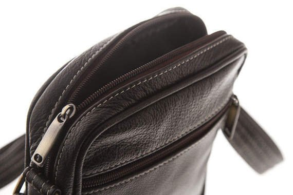Leather Shoulder Sachet Bag VOOC Prestige EP5