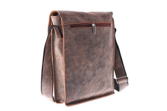 Shoulder leather bag VOOC URBAN ATS 165
