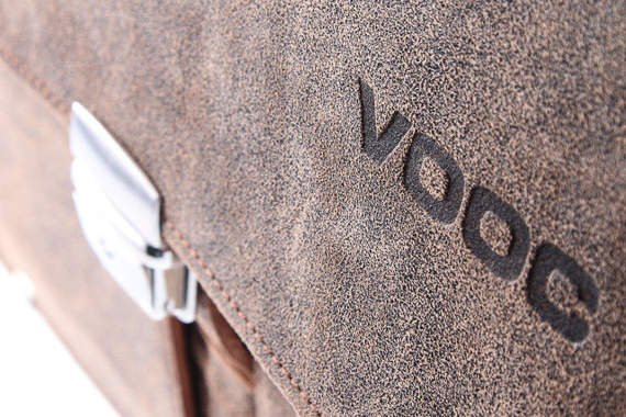 Vintage Leather satchel VOOC URBAN ATS 167