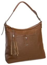 Duża włoska torebka damska skórzana Rovicky® A4