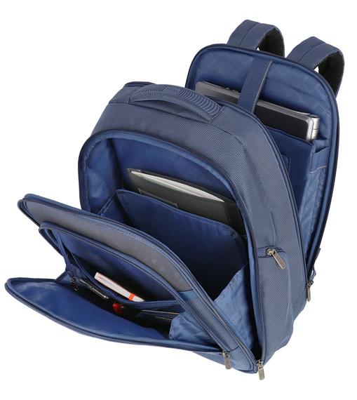 """Plecak poszerzany z miejscem na laptopa do 17"""" Titan Power Pack, poliester"""