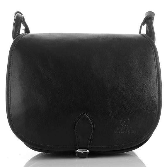 Skórzana torba damska czarna Paolo Peruzzi Adventure 888-PP-BL