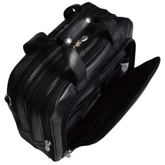 """Skórzana torba podróżna Damen 17"""""""