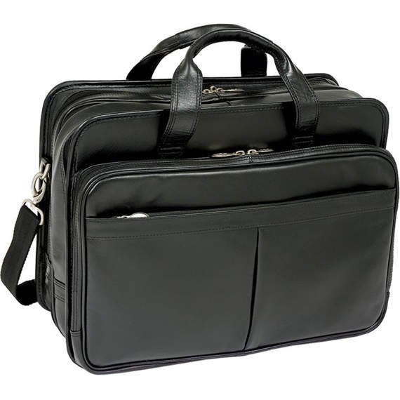 """Torba biznesowa na laptopa czarna Walton 17"""""""
