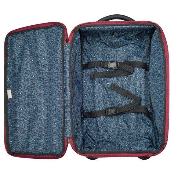 Torba kabinowa walizka Delsey EGOA torba podróżna 55 cm czerwona