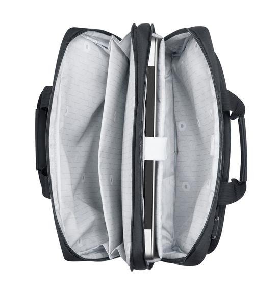 "Torba na laptopa Esplanade 15.6"" dwukomorowa Delsey"