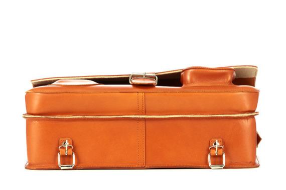 Torba na ramię z juchtu na ramię 3w1 Vintage P43