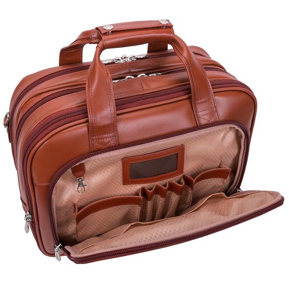 """Torba z odpinanym wózkiem, torba na laptopa Damen 17"""""""