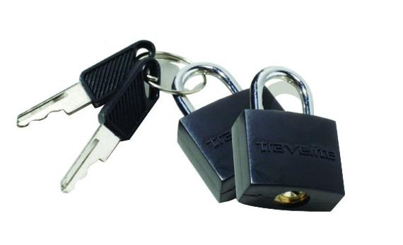 Travelite Accessories Kłódki kluczyk 2 szt.
