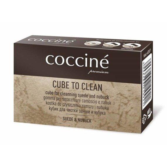 Zestaw do renowacji zamszu i nubuku pianka, gumka, nano ravvivant coccine